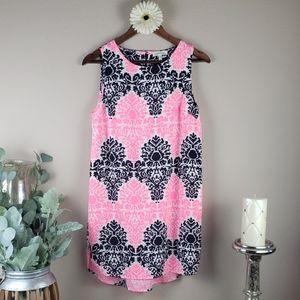 Boho beach summer pink sun dress
